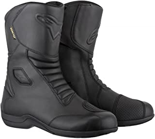 Alpinestars Web Gore-Tex Men`s Street Motorcycle Boots (Black, EU Size 45)