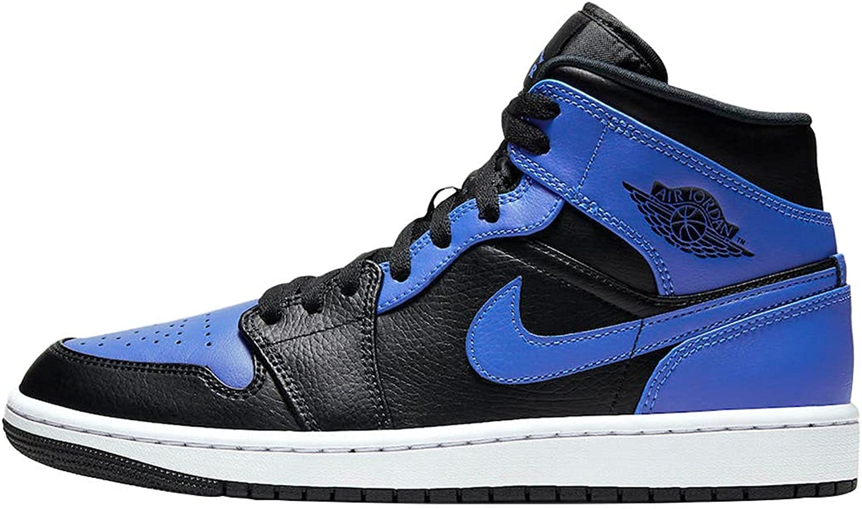 Nike Mens Air 1 Mid 554724 077 Black Royal
