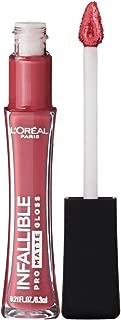 L'Oréal Paris Makeup Infallible Pro Matte Lip Gloss, Nude Allude, 0.21 fl. oz.