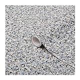 d-c-fix self-Adhesive Film Granite Grey Stone 26.5'' x 78.7'