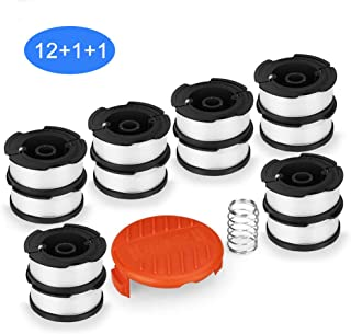 SUERW Line String Trimmer Replacement Spool, [14-Pack] 30ft 0.065