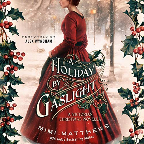 A Holiday by Gaslight audiobook cover art