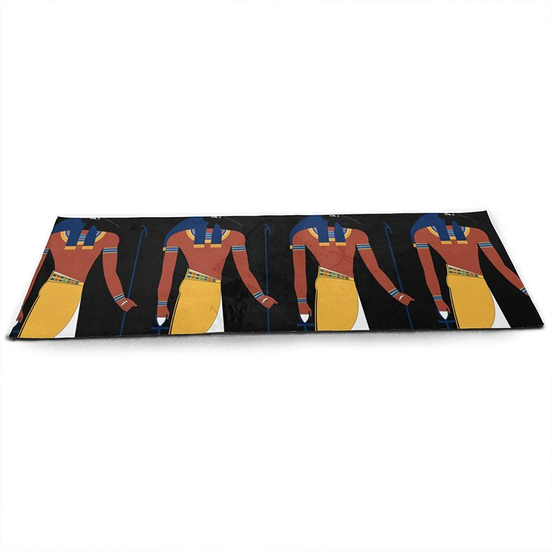 Halloween Egyptian Dancing Skeletons ECO Aqua Power Kinematic Iyengar Kundini Hot Pilates Gymnastics Hatha Yoga Mat Exercise Mat