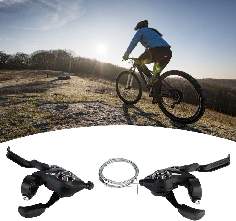 RBSD Free shipping anywhere in the nation Bicycle Shifter Brake Lightweight Durable Sturdy Speed Gorgeous and