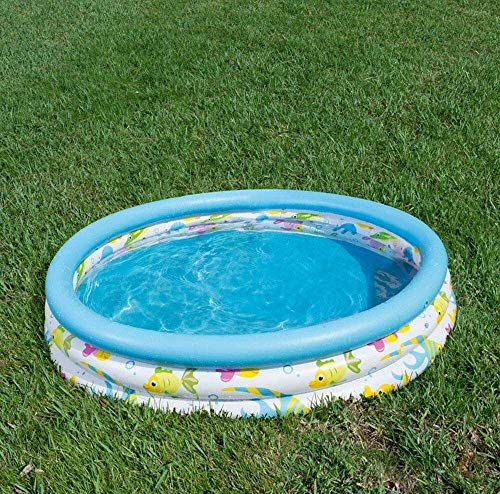 RTUHRJLXJ Folding Game Center Inflatable Pool, Baby Bath Pool Home 122 25 cm, Inflatable Bath