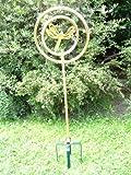 Generic YC-DE2-160802-153 <7&2436*1> Libelle mit Erdspi Kupfer mit Kreisregner Erdspiess zur Rasensprenger Bew?sserung Libelle Kreisregner