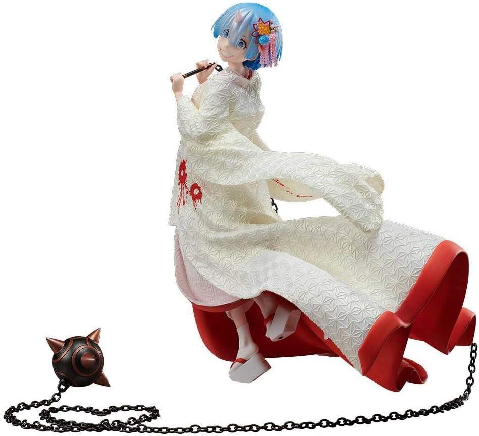 Re Zero Starting Life in Another World Rem Zenryoku Zokei Figure Devil Ver.