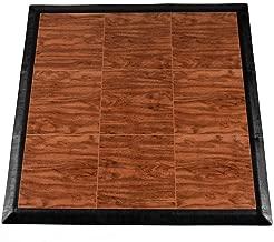 Greatmats Portable Dance Floor Wood Grain Tiles 1x1 ft x 5/8 Inch Tap Dance Floor Kit for Studios, Special Dancing Events, Clogging, Flooring, 9 Pack
