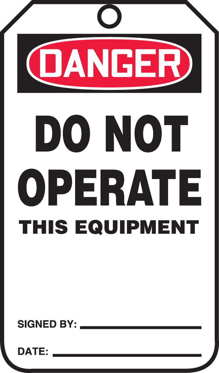 Accuform Detroit Mall MDT218CTM PF-Cardstock Safety Legend