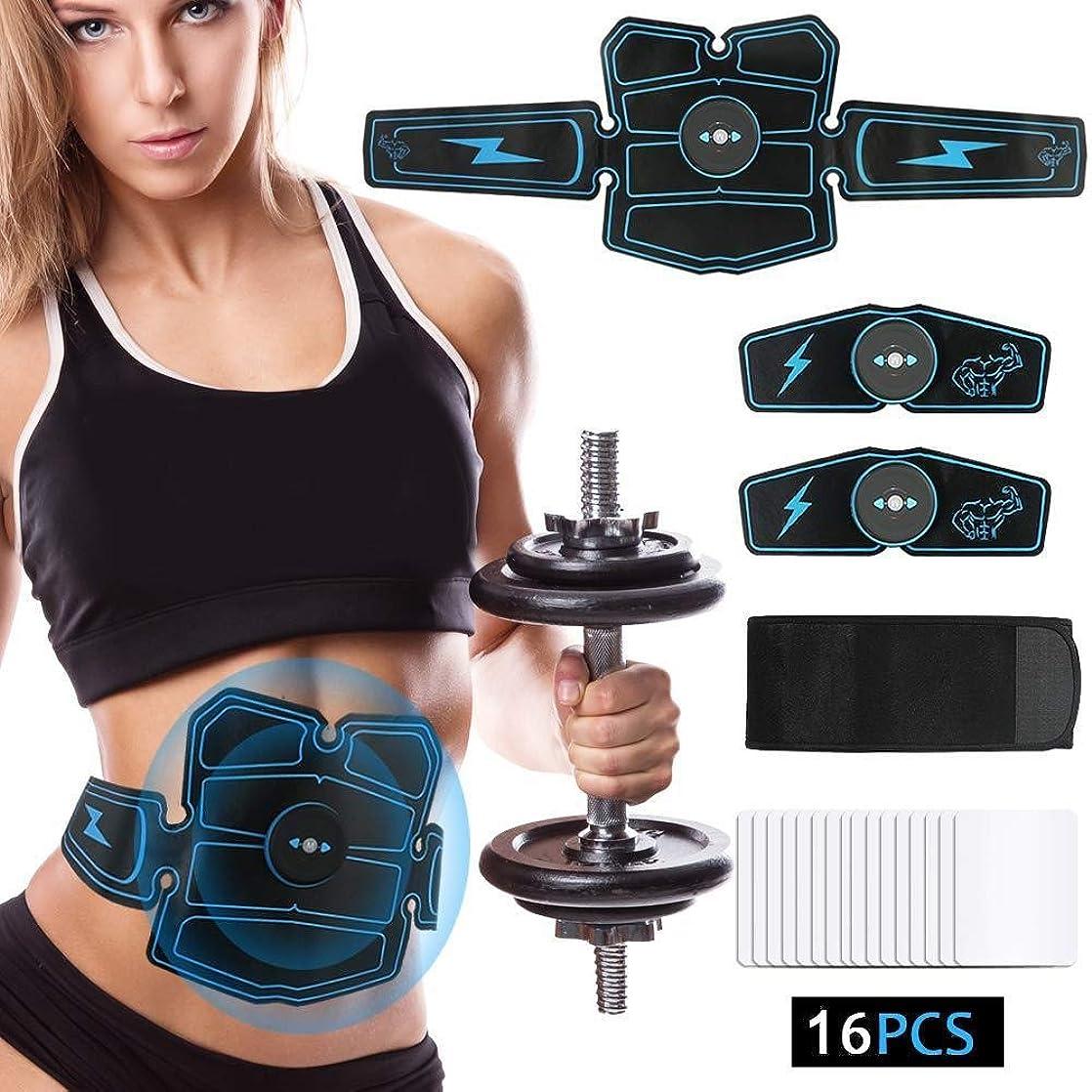 海外増幅器波腹部の筋肉マッサージ、スマートフィットネス機器、エクササイズトレーナー、腰椎運動機器、筋肉ホームパルサー