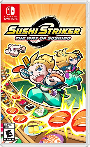 Sushi Striker: The Way of The Sushido - Nintendo Switch