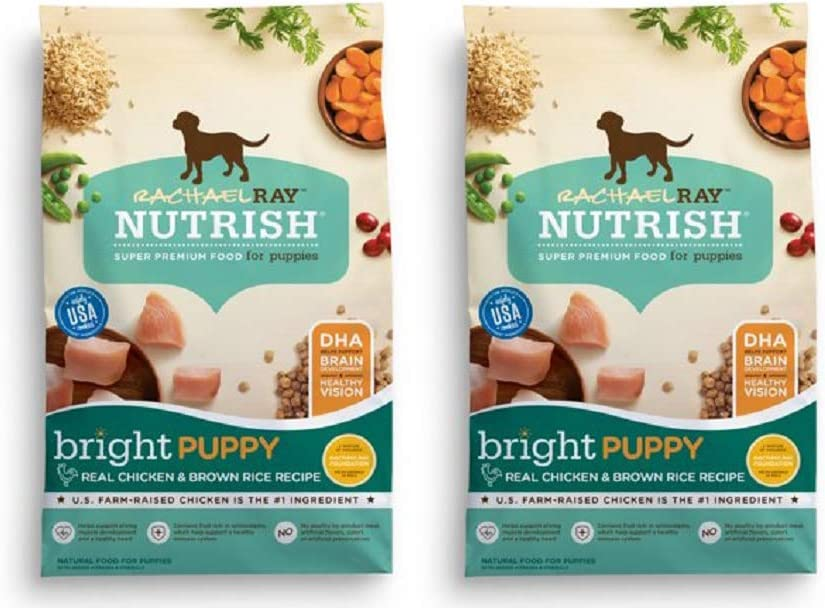 Rachael Ray Ranking TOP8 Elegant Nutrish Natural Dry Dog Food Puppy Pack 2 Chi Real