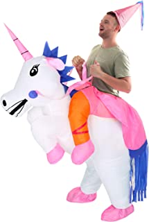 4db57f532a2 YEAHBEER Unicorn Costume Inflatable Suit Halloween Cosplay Fantasy Costumes  Adult Kids