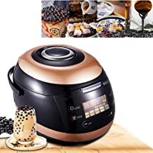 ANGELA Commercial Fully Automatic Pearl Pot, Milk Tea Pearl Maker, Large Capacity, Cooking, Non-Stick Anti-Scalding Design, 5l, 17.713.812.2 Inches