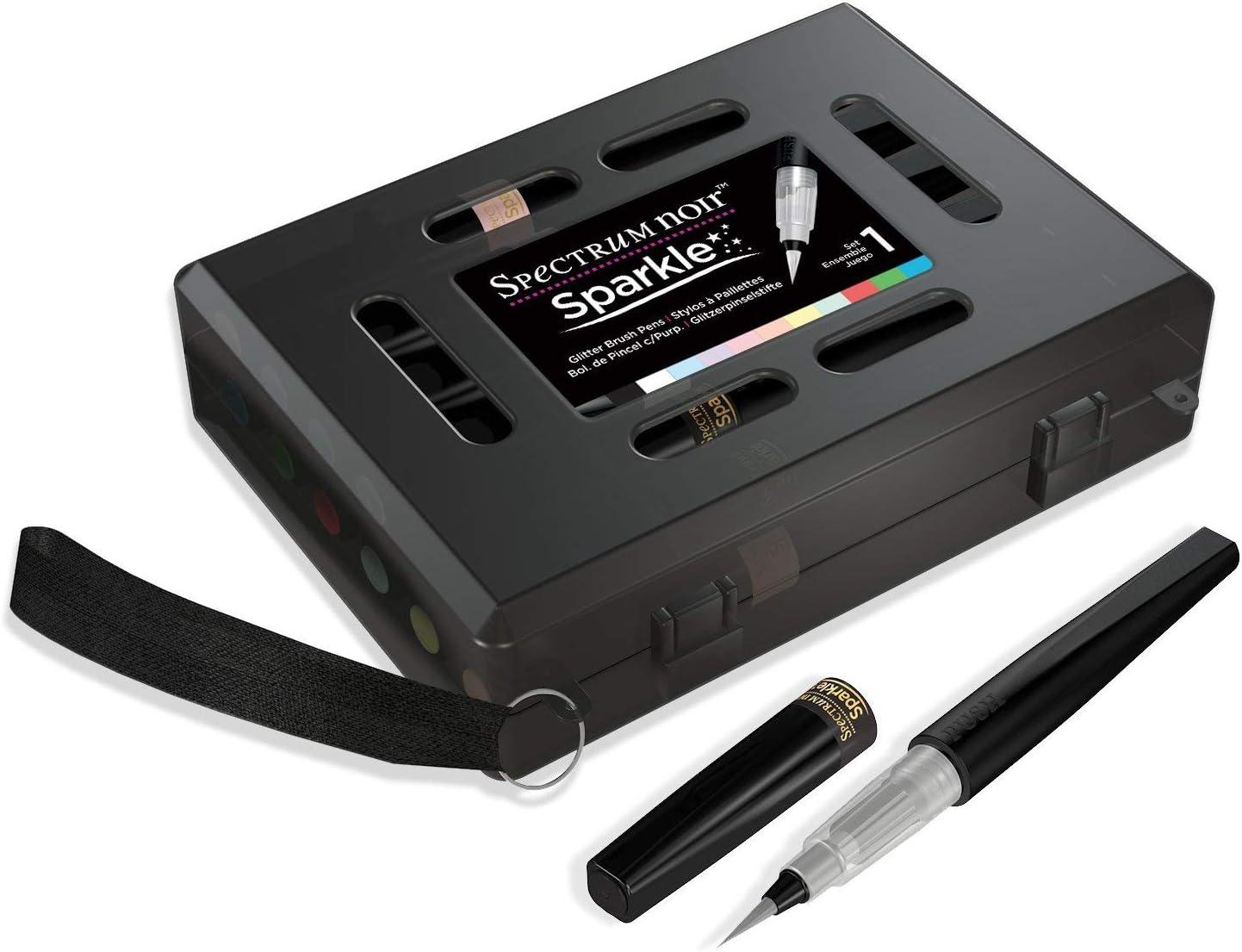 Spectrum Noir SPECN-SPAS&S Sparkle Brush Pen Set