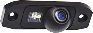 Rear View Back Up Reverse Parking Camera in License Plate Lighting Night Version (NTSC) for S90 S80L /S40L/S80/S40/S60/V60/XC90/XC60/C70/S60L/Volvo C30 V40R/ XC 70 (Model A= 2 x Screw Hole style)