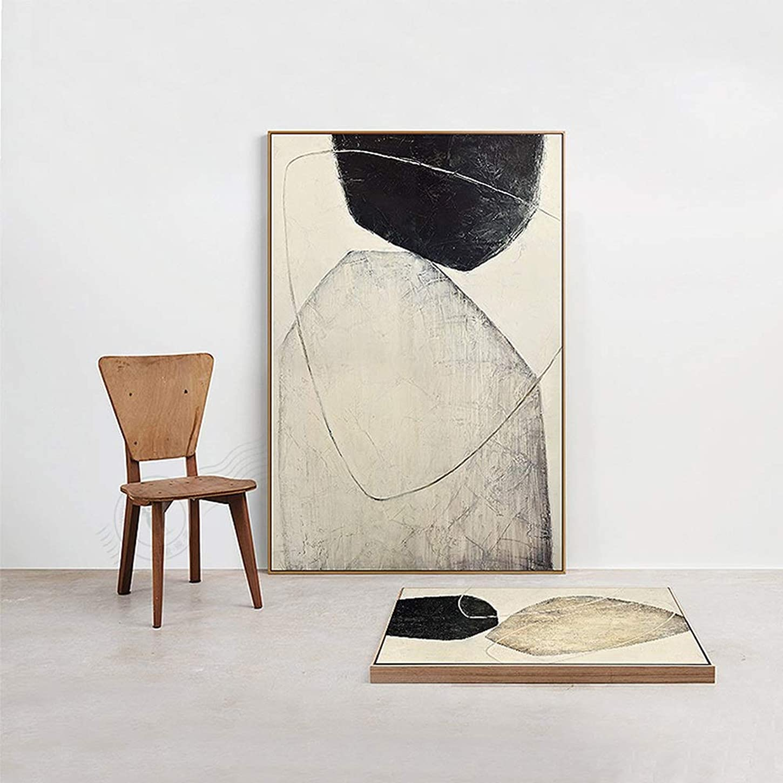 邪悪な間隔行商人Fashian室内装飾画、モダンな抽象的スタイル、特別なキャンバス、優れた引張強度、輸入された松の内枠、変形しにくい、超高解像度43 * 103 Cm インテリア