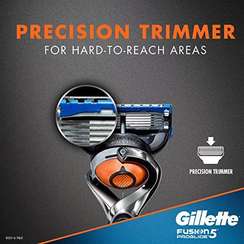 Rasoir pour Hommes Gillette Fusion5 ProGlide Power, 2 Cartouches de Rechange - 10