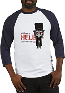 CafePress American Horror Story Chibi Papa L Baseball Shirt