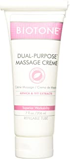 Biotone Dual Purpose Massage Creme 7 oz - Pack of 2 Tubes