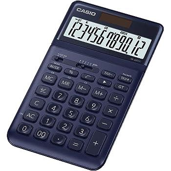 Casio JW-200SC-NY Premium & Stylish Calculator (Dark Blue)