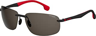 CARRERA Men's Sunglasses Rectangular Carrera 4010/S Bkrtcryrd