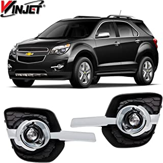 Winjet WJ30-0587-09 OEM Series for [2010-2016 Chevy Equinox] Driving Fog Lights + Switch + Wiring Kit