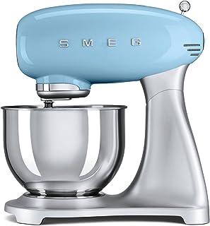 Smeg Smf01pbuk 50's Retro Stand Mixer - Pastel Blue