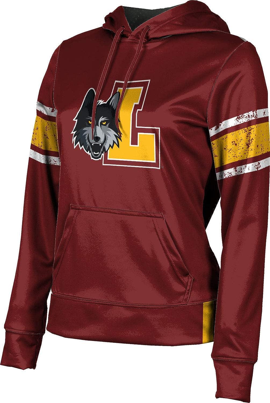 ProSphere Loyola University Chicago Girls' Pullover Hoodie, School Spirit Sweatshirt (End Zone)