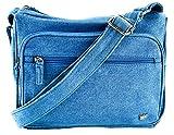 Purse King Magnum Blue Jean Concealed Carry Handbag