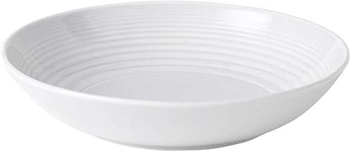 Royal Doulton 8574006785 Gordon Ramsay Maze White Pasta Bowl, 24-Ounce