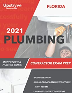 2021 Florida Plumbing Contractor Exam Prep: 2021 Study Review & Practice Exams