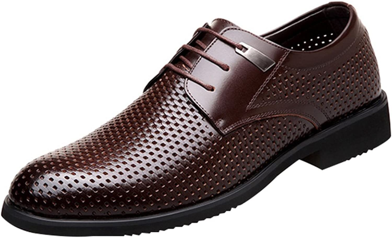 RSHENG Herren Sommer Sandalen Derby Schuhe Arbeitsschuhe