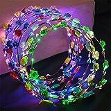 9 unids LED Diadema Guirnalda, (20 horas trabaja Garland Diadema Decorativa Luminoso),...