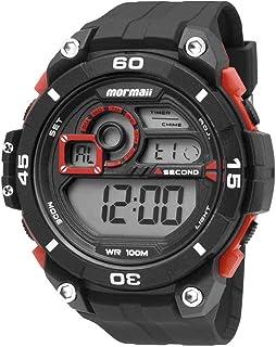Relógio Mormaii MO20198R Masculino Pulseira Plástica