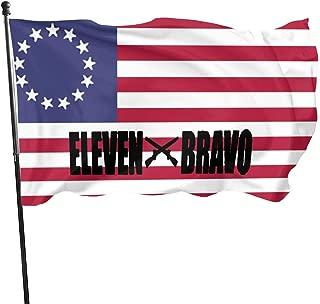 ZHANGPEIENfaqi Army MOS 11 Bravo Infantryman Flag 3' X 5' Ft Outdoor Flags Banner Breeze Flag