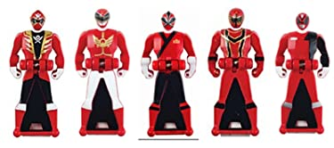 Power Rangers Legacy Red Ranger Key Pack