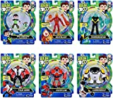 Ben 10 figure set - 6 figures in Rustbucket package