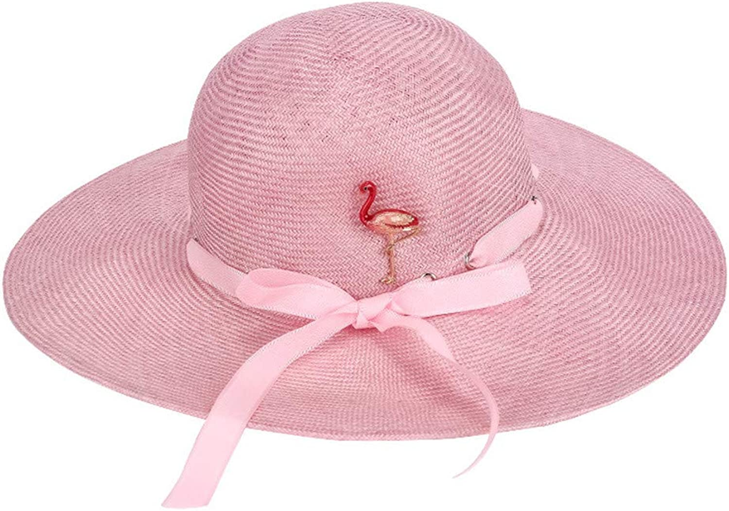 Womens Wide Brim Sun Hat UPF Beach Summer Sun Straw Hats for Women Travel Hat