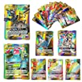 100 Pcs Pokemon GX Flash Cartes Style TCG Holo Puzzle Jeu De Cartes Amusant, Cartes Pokémon Paquets Unbroken Bonds TAG Team, Jeu de Cartes à Collectionner, 2019 Nouveau
