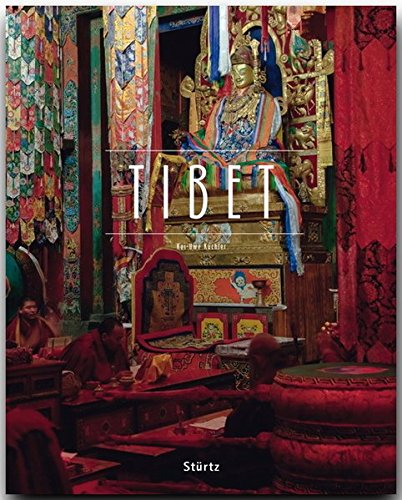 TIBET - Ein Premium***-Bildband in stabilem Schmuckschuber mit 224 Seiten und über 330 Abbildungen - STÜRTZ Verlag