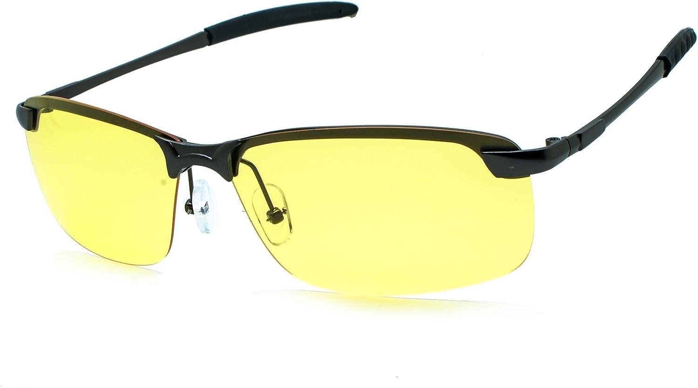 Night Driving Glasses Night Vision Polarized UV400 Predection Sport Sunglasses
