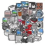 YMSD Personalidad Creativo Electrodomésticos Patrón Mano Cuenta Etiqueta Decoración Pequeño Patrón De Dibujos Animados Lindo Teléfono Móvil Material Ins Viento 40pcs