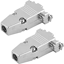 0341 D-Sub Connector Housing Enclosure Shell 9 Pole Silver