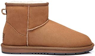 UGG Classic Ankle Boots for Women's Men's Uggs Premium Twinface Sheepskin Snow Boot Water Resistant Black Grey Chestnut Chocolate Shoes