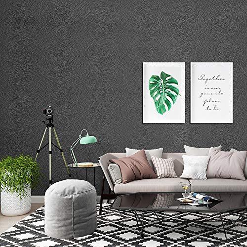 Tapete selbstklebende Kieselalge Schlamm Muster Tapete Schlafzimmer Wohnzimmer Hintergrund Wand einfarbig dekorative Aufkleber wasserdichte Wandaufkleber 0,6m * 10m matt - rosa 60cm breit