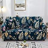 Funda Antideslizante Sofá Elástico,1 Pieza Anti-resbalón Resistente A Las Manchas PROTECTOR DE MUEBLES,Elegante Impresión Cubierta Del Sofá Cubierta De Couch Para Sofá Seccional-G 3 Seater 195-230cm(7