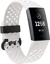 Fitbit Charge 3 Fitness Activity Tracker Special Edition (Graphite and White Silicone)
