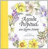 Agenda Perpetuel aux 4 Saisons (Couv Jaune)