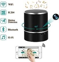 Cámara Espía LXMIMI 1080P Cámara Oculta Espía WiFi Altavoces Bluetooth Cámara Espía Oculta Rotación Horizontal 180° Cámara Oculta Detección de Movimiento en Tiempo Real Ver Nanny CAM